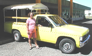 Sandra and Challenger Taxi II